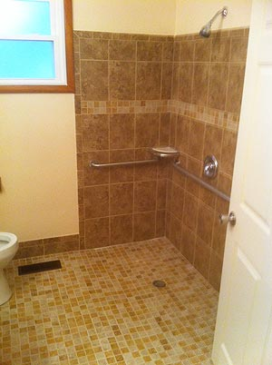 Handicap Bathroom Remodel Bathroom Remodeling  Janecek Construction  Chardon Ohio